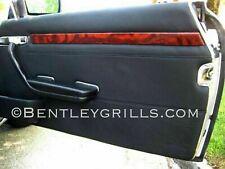 Mercedes SL R107 SLC W107 Wood Door Trims Genuine Burl Walnut Wood
