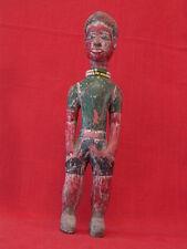 Statue colon. Baoulé. Côte d'ivoire