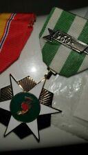 Original South Vietnam Campaign Medal - 1960- Bar - Vietnamese Made