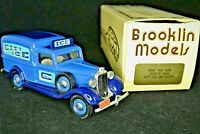 MINT BROOKLIN Model BRK 16A 1935 Dodge Van with Ohio City Ice Delivery decals