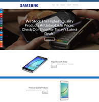 SAMSUNG SMARTPHONE Website Earn £89 A SALE|FREE Domain|FREE Hosting|FREE Traffic