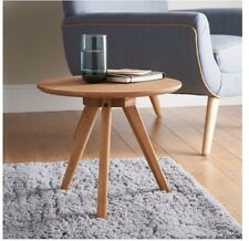 Stylish Jarvis Premium Oak Side Table Multipurpose Table For Living Room Bedroom