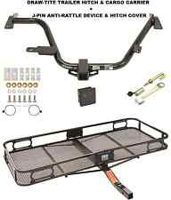 TRAILER HITCH + CARGO BASKET CARRIER + SILENT PIN LOCK 15-17 CHEVY CITY EXPRESS