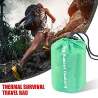 Outdoor Waterproof Reusable Emergency Sleeping Bag Thermal Survival Camping Bag