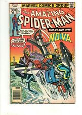 Amazing Spider-Man #171 Fn 6.0 1977 Nova #12 Cross-Over! Guardians of the Galaxy