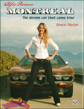 Alfa Romeo Montreal Book Dream Car Taylor Photo (Fits: Alfa Romeo)