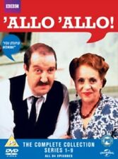 Allo 'Allo Complete Season 1 2 3 4 5 6 7 8 9 Series One to Nine Allo Reg 2 DVD