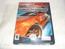 Need for Speed: Underground (Sony PlayStation 2, 2003) NTSC  COMPLETE