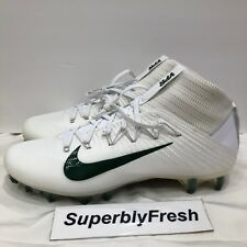 pretty nice 4adad 1c7de NEW Nike Vapor Untouchable 2 Football Cleats White Green 924113-105 Size 11  RARE