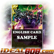 Buddyfight x 4 CHAOS Brute [X-BT02/0083EN C] English Mint Future Card