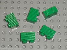 5 x LEGO Green bricks ref 2877 / set 7898 10173 4512 4552 4511 10157 4561 4560..