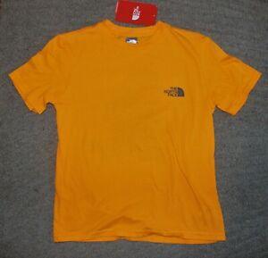 The North Face Boys Orange T-Shirt - Size L (14-16) - NWT