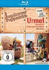 Blu-ray Augsburger Puppenkiste - URMEL AUS DEM EIS + ...SPIELT IM SCHLOSS ++NEU