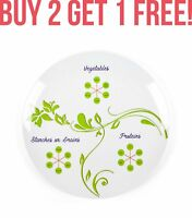 World Slimming Diet Plate Divided Discreet Portion Control Weight Loss Watchers