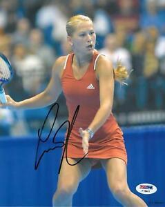 Anna Kournikova Signed Authentic Autographed 8x10 Photo (PSA/DNA) #F18941