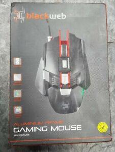 Blackweb Aluminum Frame Gaming Mouse Adjustable Palm Rest