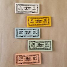 1990 The Game of Life Money replacement