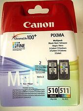 CANON PG-510 schwarz CL-511 color PIXMA MP440 MX340 Tintenpatronen Original+