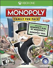 NEW Monopoly Family Fun Pack (Microsoft Xbox One, 2014)