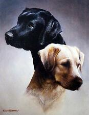 "Kevin Daniel ""Master of the Marsh"" Lab Hunting Dogs 14"" x 18"""