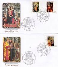 Vaticano 2006 FDC nº 1548 - 1550