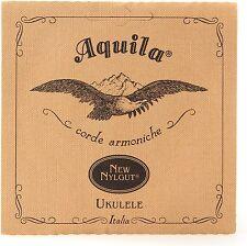 Ukulele Soprano AQUILA Stringa Set. basso G aecg 5u