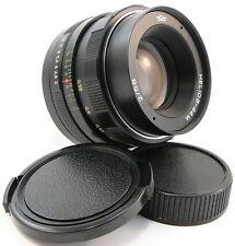 *SERVICED* =KMZ= HELIOS 44m 58mm f/2 Russian USSR Lens Screw Mount M42 44-2