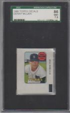 1969 Topps Decals Denny McLain SGC 7.5 NM+
