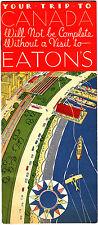 Eaton's Department Store Canada 1935 1930s Vintage Brochure
