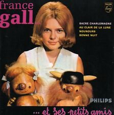 CD SINGLE France GALL Sacré Charlemagne 4-track CARD SLEEVE NEW SEALED  9490