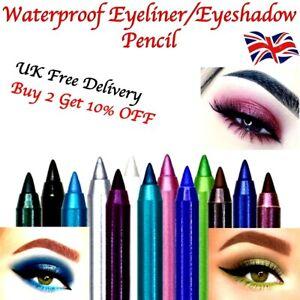 Waterproof Matte Glitter Eyeliner Pencil Eyeshadow  Long Lasting Makeup