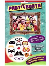12Pc Photo Booth Selfie Props Card Props Posing  Kids Party Supplies Gift 329000