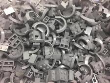 12 LEGO VEHICLE MUDGUARDS (4 x 2 1/2 x 1 2/3 with Arch Round) Dark Bluish Gray