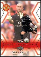 Fabien Barthez Manchester United #109 Upper Deck 2001 Football Trade Card (C361)