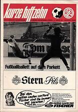 11.01.1981 HT Rot-Weiss Essen mit Borussia Dortmund, VfL Bochum, Schwarz-Weiss