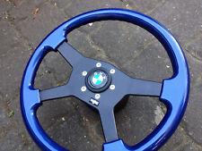 RAID BMW Holzlenkrad Holz Sportlenkrad 3er E30 Lim Cabrio 5er E34 7er E32 Hartge