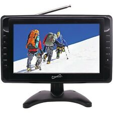"""SuperSonic SC-2810 10"""" Portable LCD Television w/Built In Speakers"""