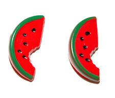 Stud Earrings (S308) Slice Of Watermelon