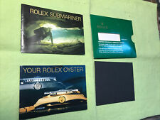 "Rolex Vintage 1989 ""Rolex Submariner "" Booklets Set. F.5513 ;16660;16610 Eng"