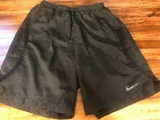 Men's Black Nike Dri Fit Running Athletic Basketball Elastic Waist Sz Small