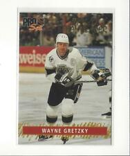 1992-93 Pro Set Gold Team Leaders #6 Wayne Gretzky Kings