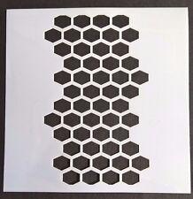 Plantilla de nido de abeja recortes elaboración de Tarjetas Aerógrafo Pintura diario de decoración del hogar