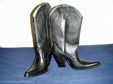 Jones 5-Inch Heel Cowboy Boots NEW(Black), Size 10!