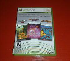 Xbox Live Arcade Game Pack (Microsoft Xbox 360) -No Manual