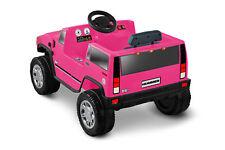 Hummer ORIGINAL Top Quality Kids H2 6-Volt Battery-Powered For Ride-On, Pink