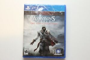 Assassin's Creed: The Ezio Collection (Playstation 4 PS4, 2016) NEW SEALED
