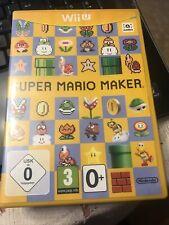 Super Mario Maker Nintendo Wii U PAL Very Good Condition