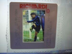 Press Photo slide negative Inter Milan v AC Milan Roberto Baggio 27.1.2000 (3)