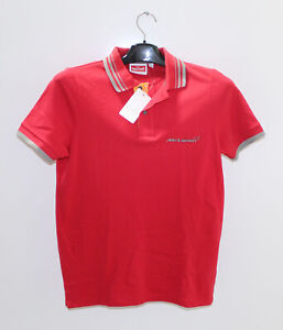 McLaren By Hunziker Sport Series Red Polo Size X-Small PN 1211Q1233CP