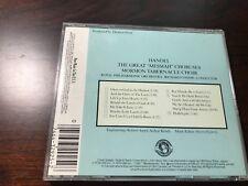 "Handel: The Great ""Messiah"" Choruses by Richard Condie (CD, Oct-1984, CBS..."